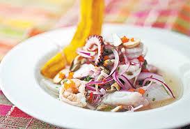 Image result for receita ceviche peixe branco