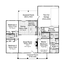 Country House Plans   Open Floor Plan  country french floor    Country House Plans   Open Floor Plan