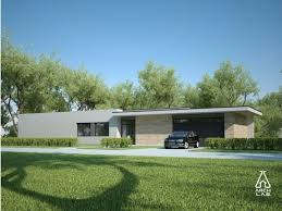 New Modern and Country Cottage House Plans   EYE ON DESIGN by Dan    Modern approach   you could also call it a contemporary ranch house