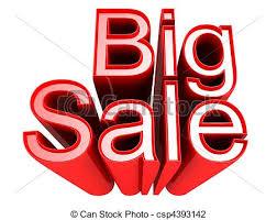 Image result for free clip art big sale