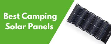 7 Best <b>Solar Panels</b> for <b>Camping</b> in 2020 (Review)