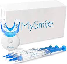 MySmile <b>Teeth Whitening Kit</b>, <b>Teeth</b> Whitening Light with 3 Non ...