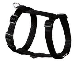 <b>Hunter шлейка</b> для собак Ecco Sport, нейлон, черная