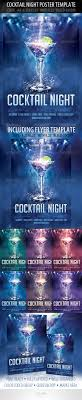 cocktail night poster template cocktail night flyer 01 preview