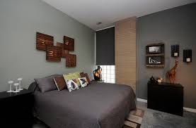 decor men bedroom decorating: view in gallery fascinating wall art above the bed using ikea flooring tiles and lights