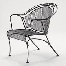 wrought iron mid century and irons on pinterest black wrought iron outdoor furniture
