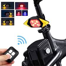 Bike Tail Light with Turn Signals Wireless Remote ... - Amazon.com