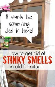 how to get gross smells out of old furniture cleaning tips garages painted antique furniture cleaning
