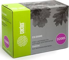 Тонер-<b>картридж Cactus CS-D208S</b>, черный, для лазерного ...
