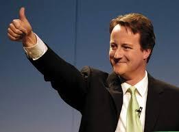 David  Cameron actualul prim-ministru al Regatului Unit