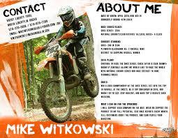 mike witkowski    s sponsorship resume mike witkowski    s sponsorship resume
