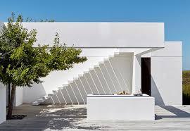 Esterni Casa Dei Designer : Casa moderna total white con arredamento design in sud africa