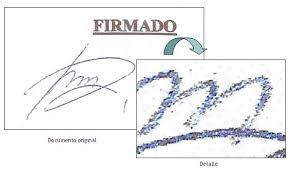 Resultat d'imatges de falsificación de firmas