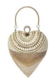 <b>SEKUSA Tassel Rhinestones Women</b> Evening Bags Chain ...