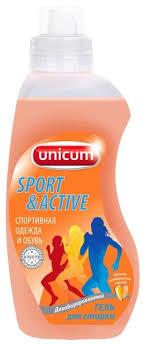 <b>Гель для стирки Unicum</b> для спортивной одежды — купить по ...