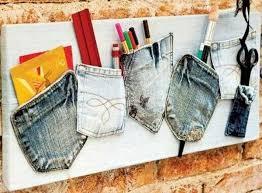 amazing diy upcycling ideas denim crafts ideas home office organizers ideas amazing diy home office