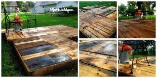 pallet lawn diy pallet deck build pallet furniture plans