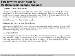 electrical maintenance engineer cover letter 3 tips to write cover letter for industrial engineer cover letter