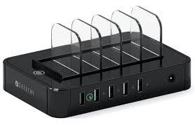 Купить <b>док</b>-<b>станция Satechi</b> 5-Port USB <b>Charging Station</b> ...
