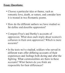 of essay type of essay