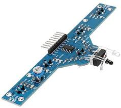 DORLIONA <b>Five Road Tracing Module</b> Tracing Sensor Module 5 ...