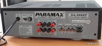 Amply nhập khẩu chất lượng tốt, âm thanh hay.