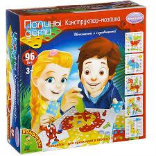 """Папины дети"" - <b>конструктор</b>-<b>мозаика</b> Воndibon, 96 деталей ..."