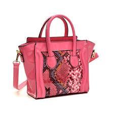 Dasein <b>Women</b> Handbag <b>Fashion</b> Snakeskin <b>Patent Leather</b> Tote ...