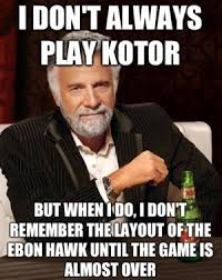 The Internet Meets Star Wars: Five Of The Best KotOR Memes In The ... via Relatably.com