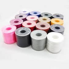 <b>Chenkai</b> 50 meters/<b>roll</b> 1.5mm Nylon Satin Cord DIY Silicone Baby ...