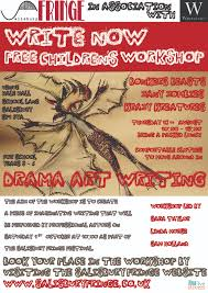 write now children s workshop salisbury fringe theatre write now children s workshop
