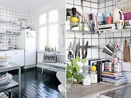 functional kitchen overhead stainless steel racks view in gallery kitchen with stainless steel shelving and gridded wall