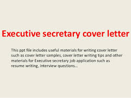 Best Photos of Sample Cover Letter Administrative Secretary