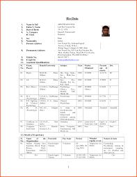 biodata format for lecturer job best live biodata format for lecturer job biodata format for job bio data sample for freshers format teachers