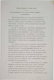 proclamation pardoning richard nixon the gilder lehrman gerald ford a proclamation pardoning richard nixon 8 1974 gilder ldquo