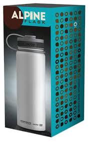 Купить <b>Термобутылка asobu</b> Alpine flask (0,53 <b>л</b>) белый по низкой ...