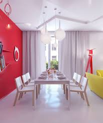 Red Wall Living Room Decorating Living Room Decorating Captivating Home Interior Decoration With