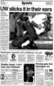 uw flashback the day the huskies stunned nebraska in one of headline