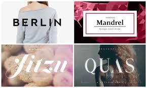 47 <b>Fashion</b> Fonts That Will Help You Make a Statement | HipFonts