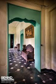 chateau de la chapelle looking back through the doorway chateau de la chapelle belgium
