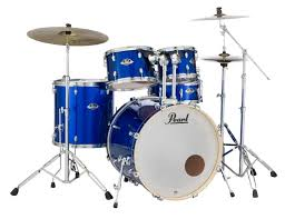 Pearl Export EXX <b>5</b>-<b>Piece</b> Drum Set With Cymbals & Hardware ...