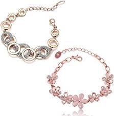 Rose Gold - Fashion Jewellery: Jewellery - Amazon.in