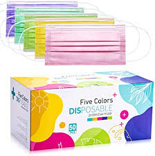 <b>Disposable</b> Face <b>Mask</b>, 3 Layer <b>Disposable Masks</b> Five <b>Color Masks</b>