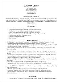 example quality control technician resume  seangarrette coquality assurance resume templates quality assurance