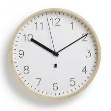Купить «<b>Часы настенные</b> Rimwood белые» (UMBRA) по цене ...
