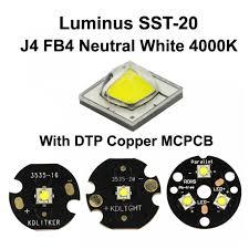 Luminus SST 20 J4 FB4 Neutral White <b>4000K</b> LED Emitter With ...