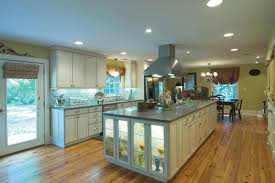 architecture large size modern nice design of the kitchen leds lights that has wooden floor add task lighting