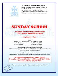 sunday school seeking new students st thomas n apostolic sundayschoolflyergeneric