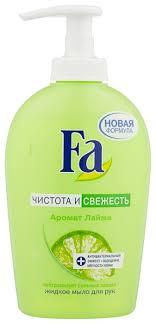 <b>Мыло жидкое</b> Fa Чистота и свежесть аромат <b>лайма</b> — купить по ...