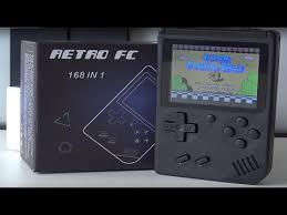 Retro FC Game Boy MIni China Clone   168 Games in <b>1</b> 8-bit System